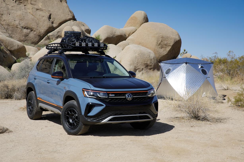 Volkswagen может выпустить версию Taos для сафари