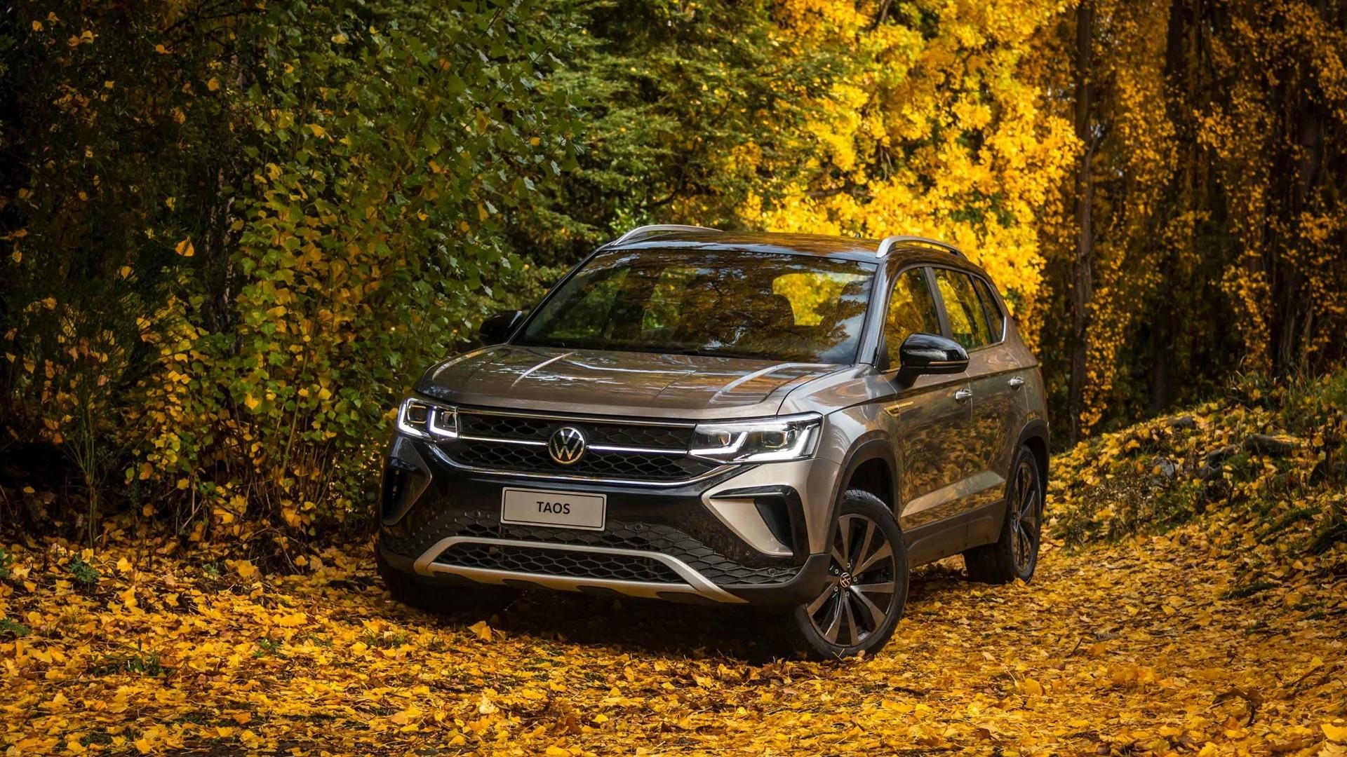 Volkswagen Taos может получить автомат для базового двигателя